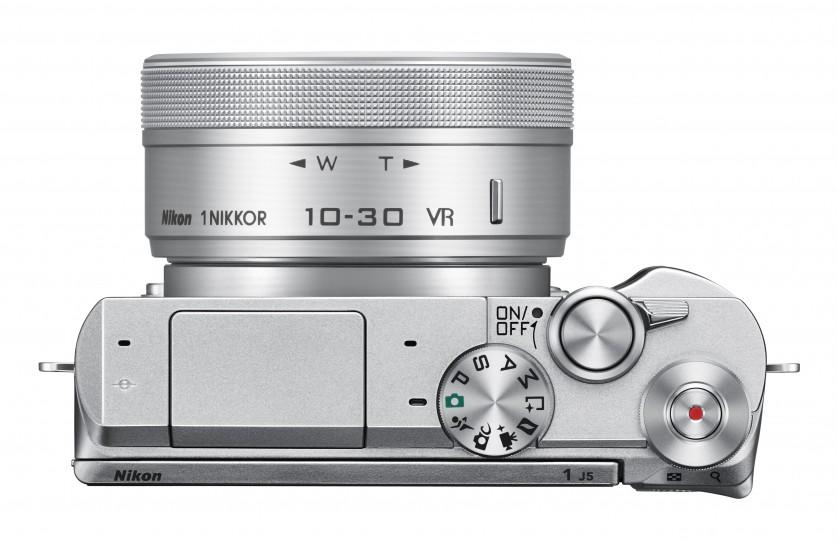 Nikon 1 J5 Top View