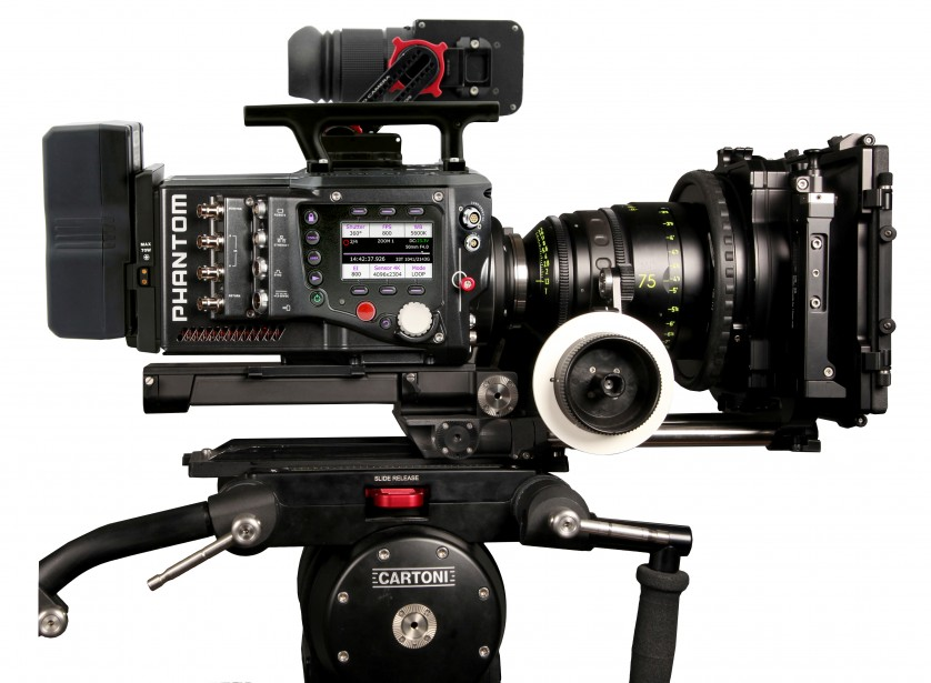 Phantom Flex 4K 1000 fps upgrades