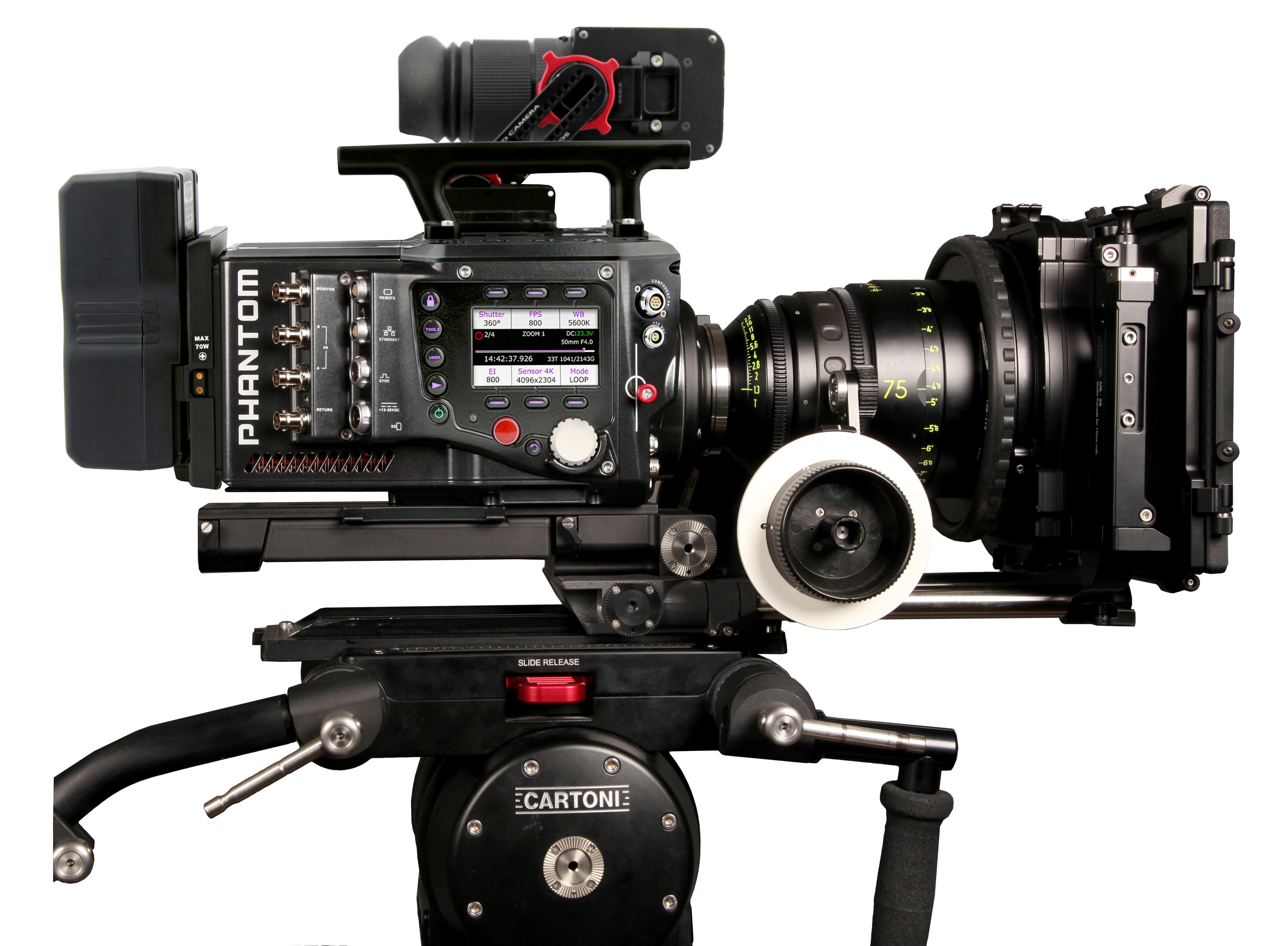Phantom Flex, the 1000 FPS 4K Monster Camera, Is Getting More ...