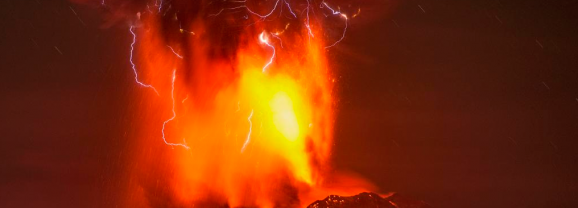 Watch a Timelapse of Chile's Huge Erupting Volcano