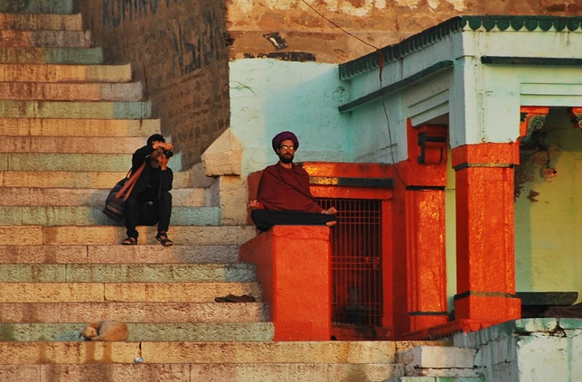 Finding spirtuality and photographers finding interesting subjects © Nomadic Experiences