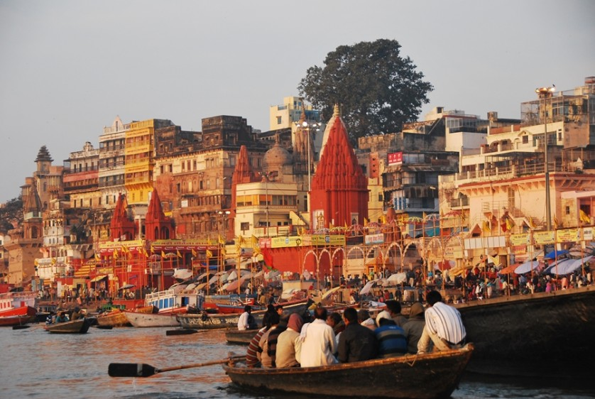 The activity along the Ghats can be chaotic but still visually pleasing © Nomadic Experiences