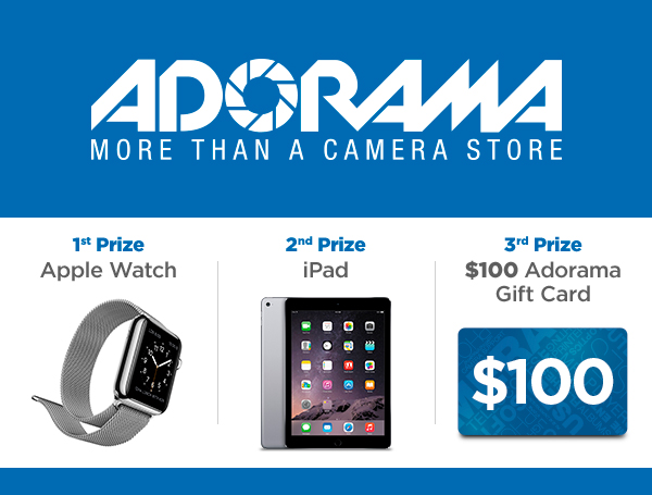 adorama apple watch contest
