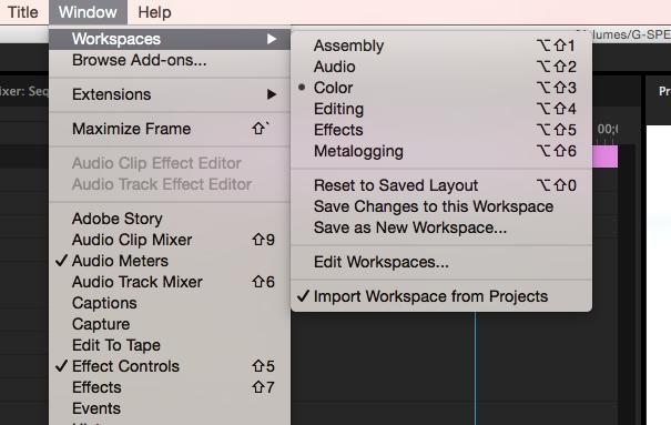 Adobe Hue in Premiere Pro CC 2015