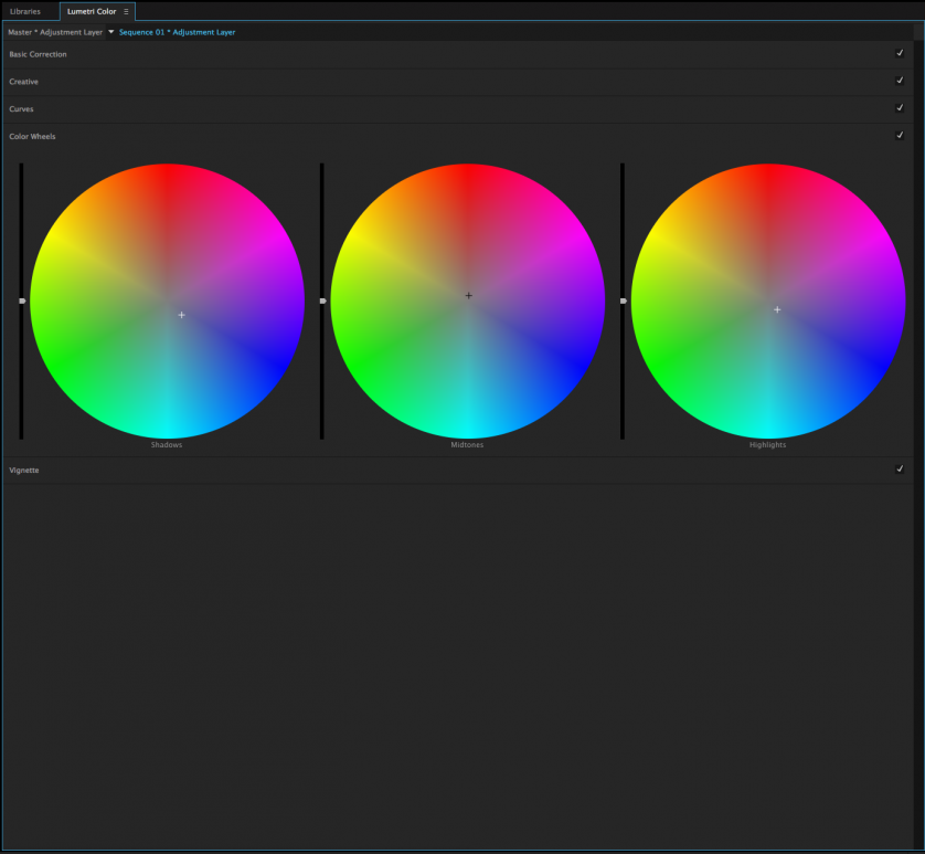 how to change colour on adobe premiere pro