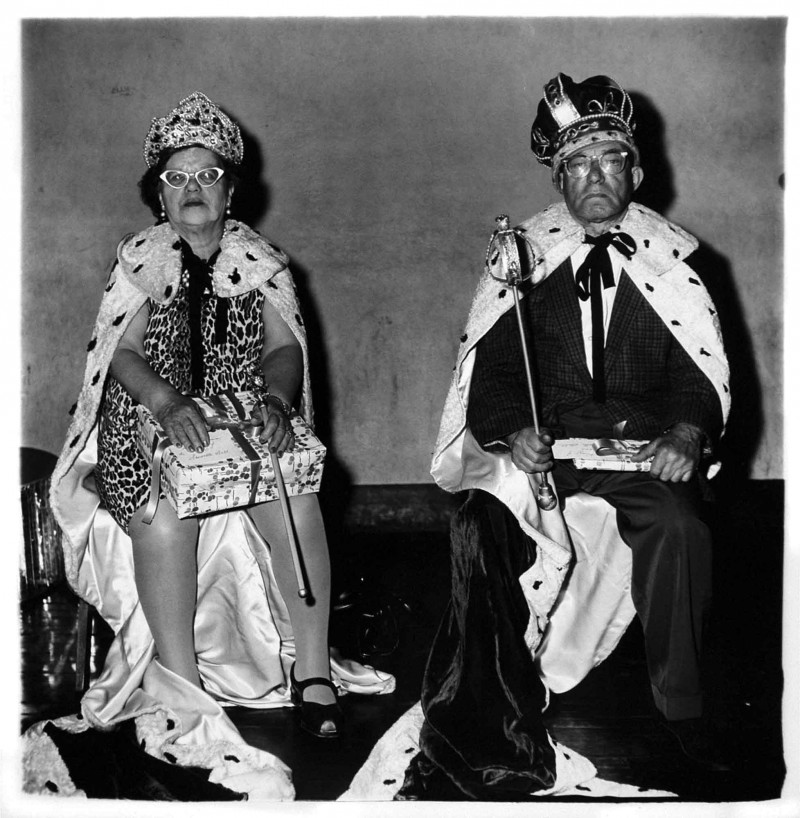 Arbus - King and Queen