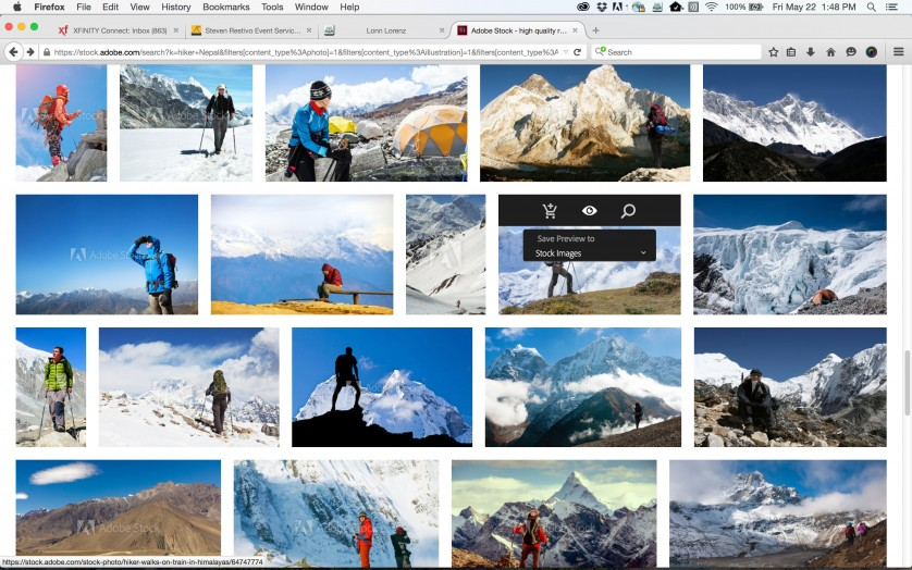 Image Library in Adobe Stock