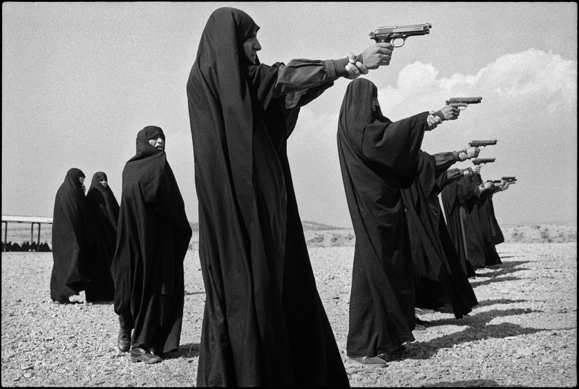 Iran's Female Militia © Jean Gaumy