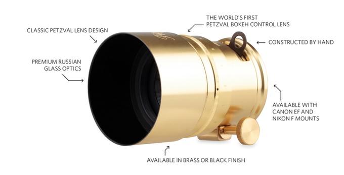 Lomography 58mm f:1.9 Petzval Lens