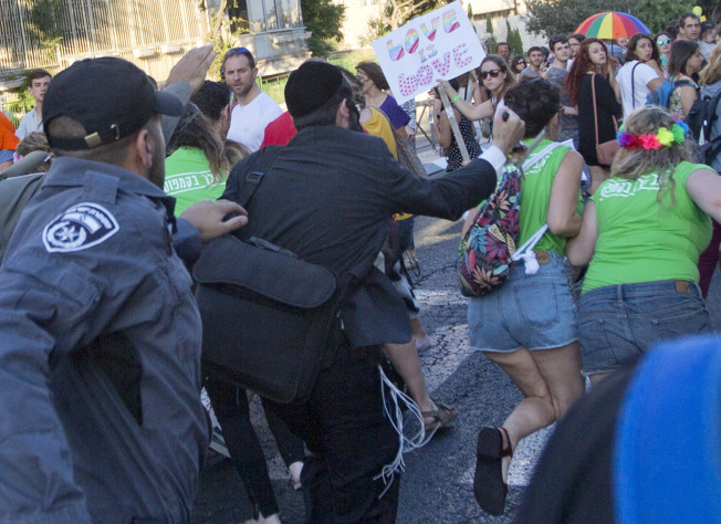 Man Attacks Gay Pride Parade Jerusalem