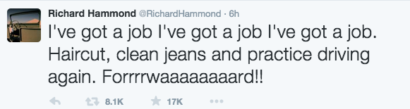 Richard Hammond Twitter