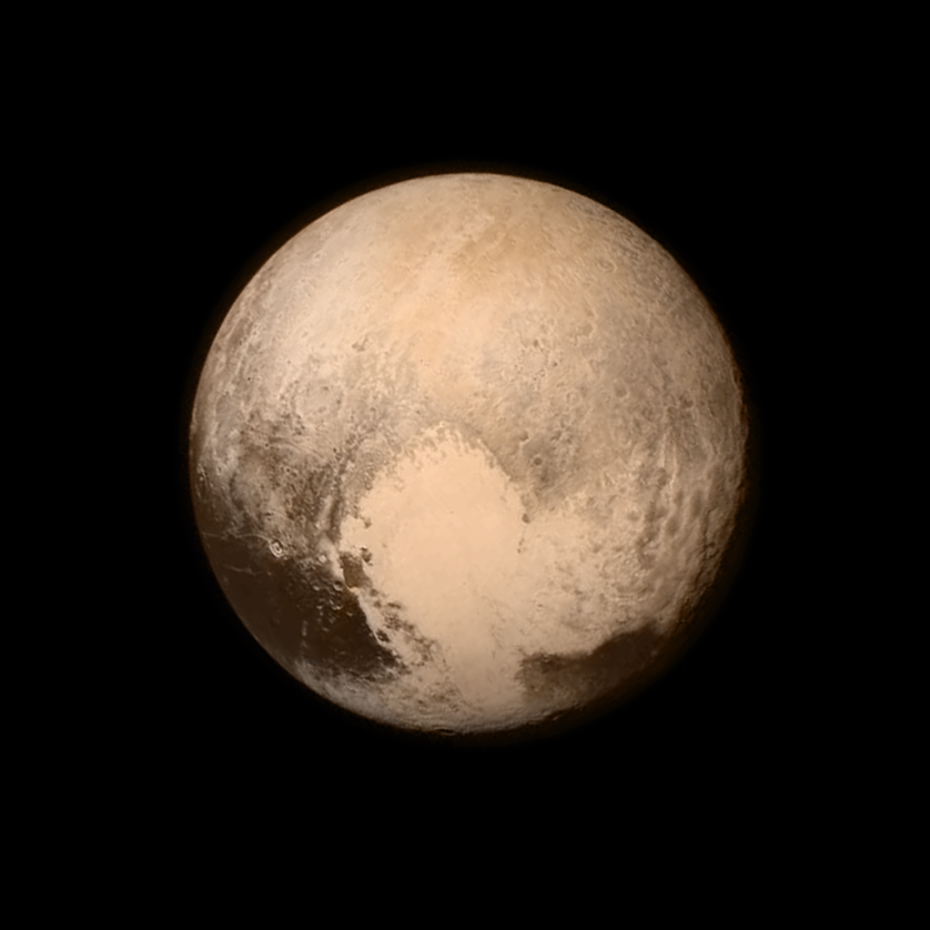 The Planet Pluto Taken by New Horizons