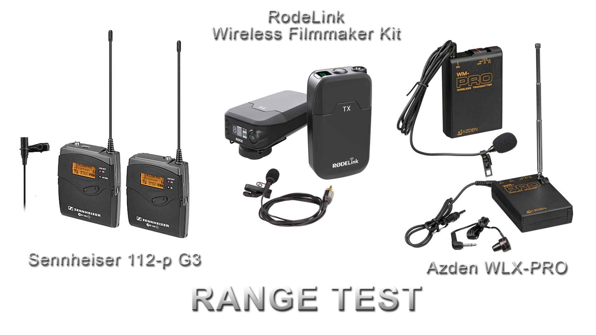 wireless lav mic test rodelink vs sennheizer vs azden resource. Black Bedroom Furniture Sets. Home Design Ideas