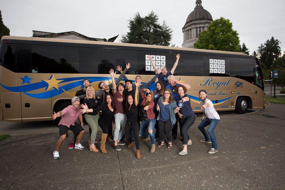 CreativeLive Bus Tour 2015