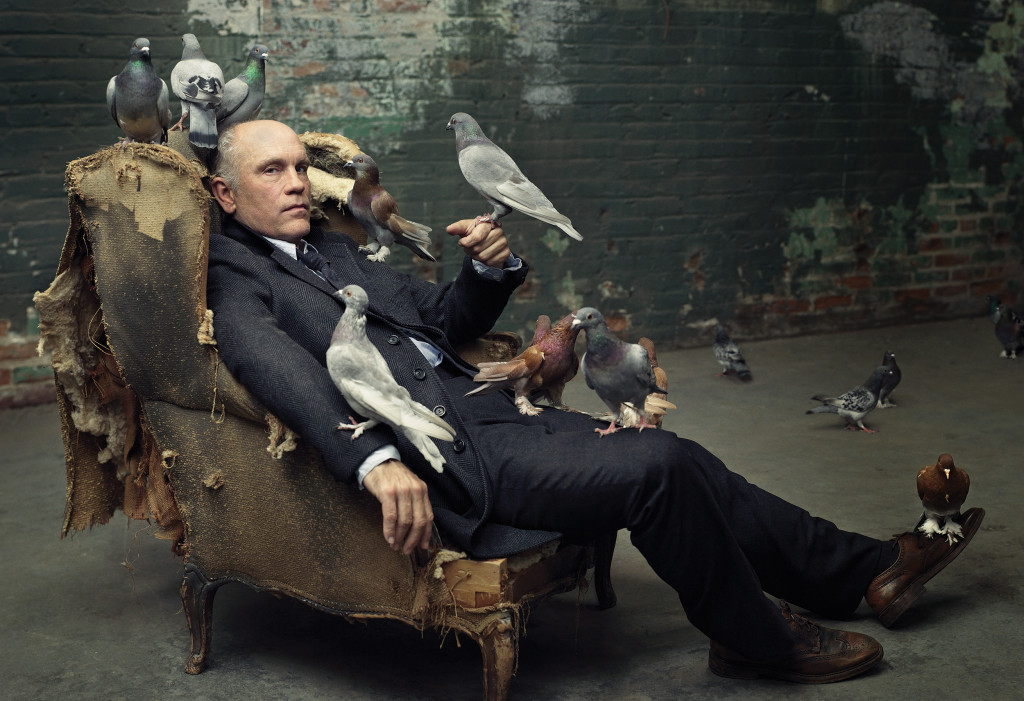 John Malkovich, Sun Chemical, Los Angeles, CA, 2008 © Mark Seliger