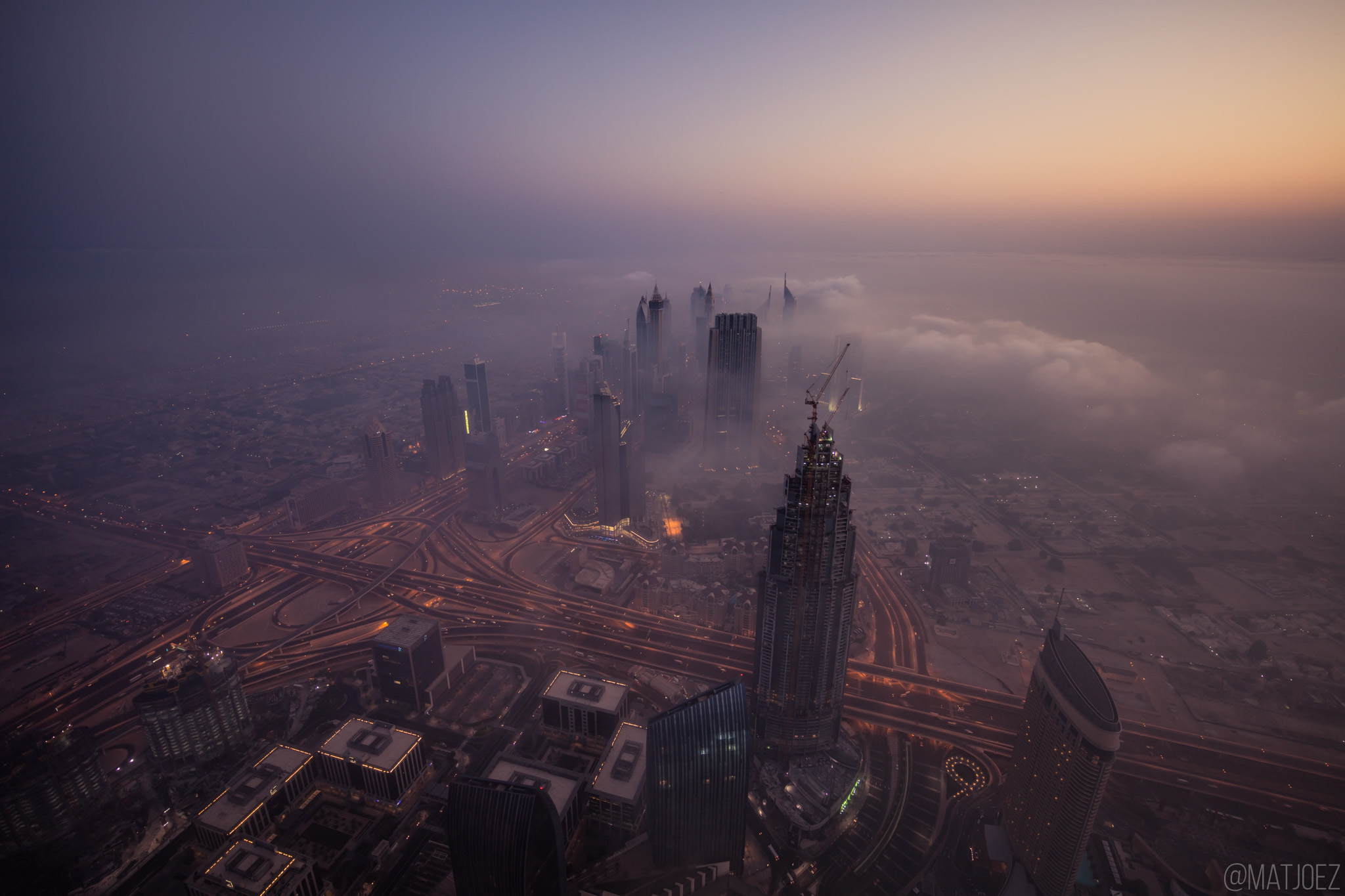 Dramatic 8k Time-Lapse Merges Dubai's City And Desert