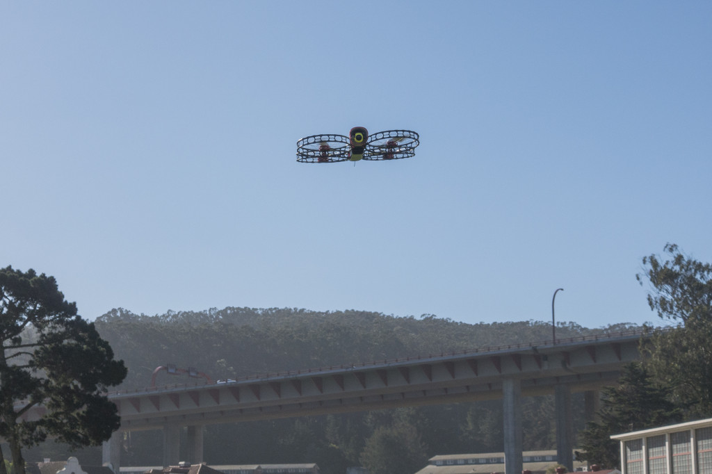 The Snap Flying Camera