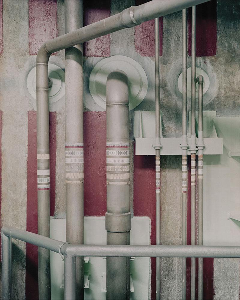 Rocket Fuel Pipes. Titan II Silo - US © Justin Barton