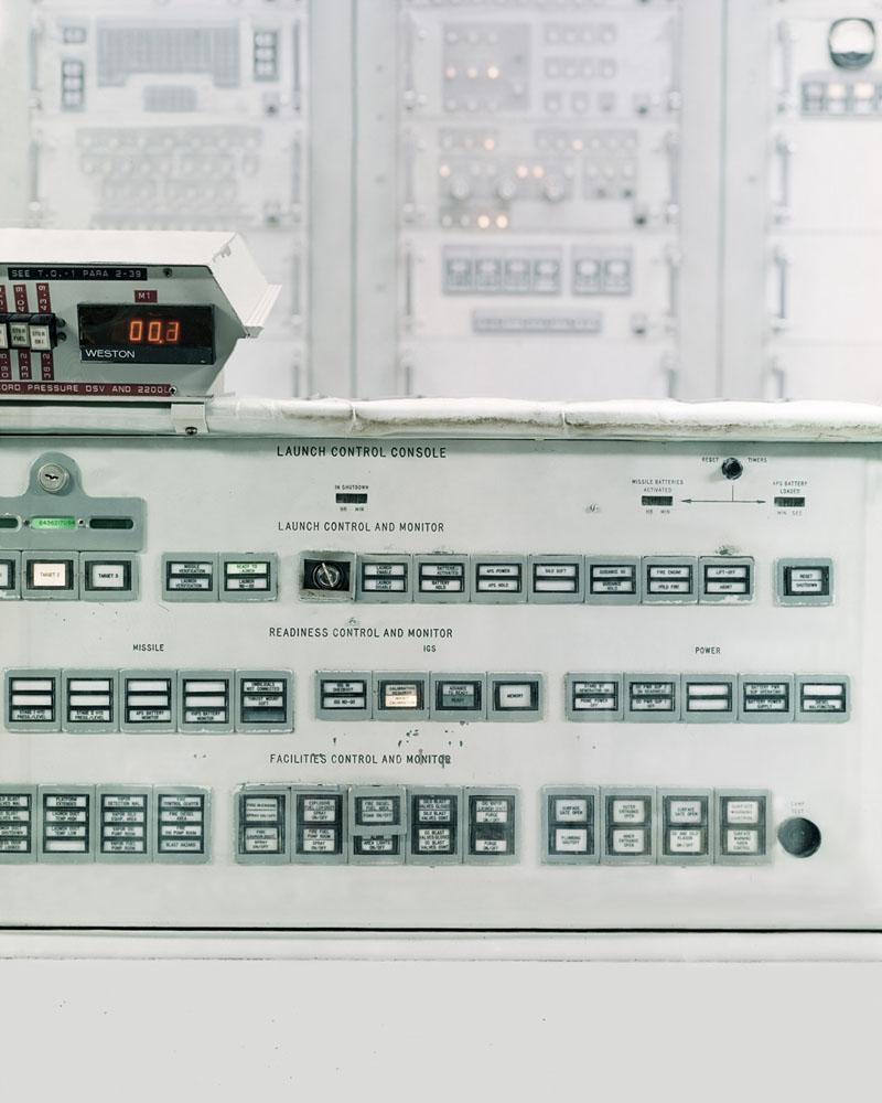 Launch Console Titan II Launch Control Centre - US © Justin Barton