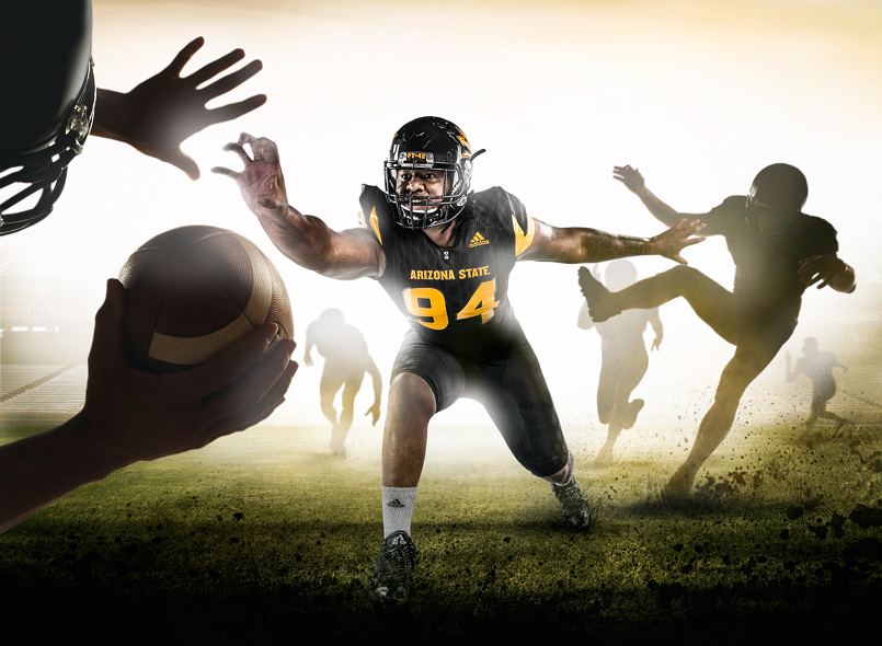 ASU Advertising campaign by advertising photographer Blair Bunting.