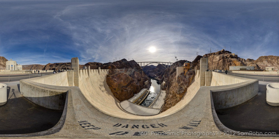 hoover-dam VR photography