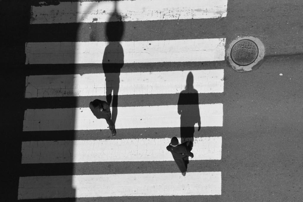 Strangers in a Urban Space/ © Hanna Aarrestad