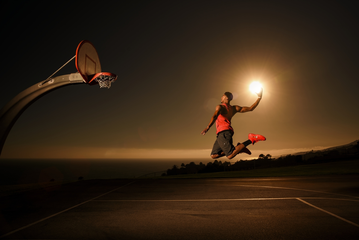 redbull dunk the sun san pedro basketball Anthony Davis