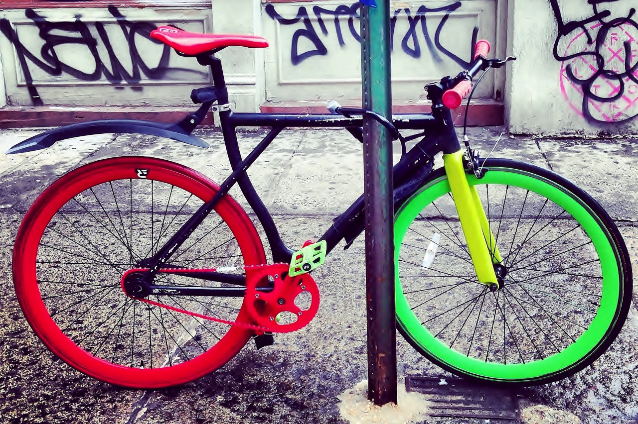 Colorful NYC Bike_Jason Johnson