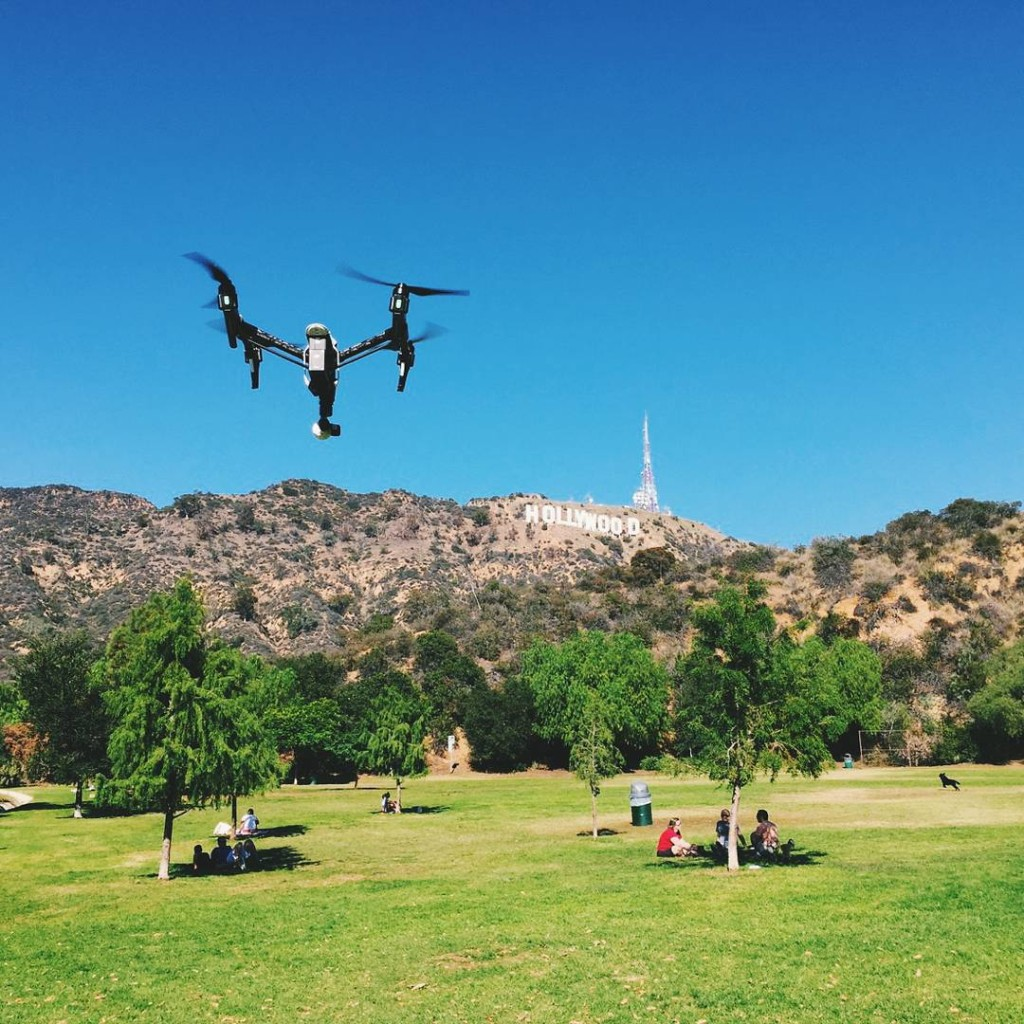 DJI-Inspire1-Flying-In-Air