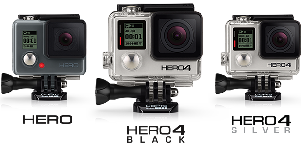 GoPro Iterations
