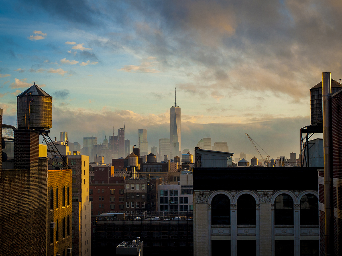 Rooftop View of NYC_Malike Sidibe