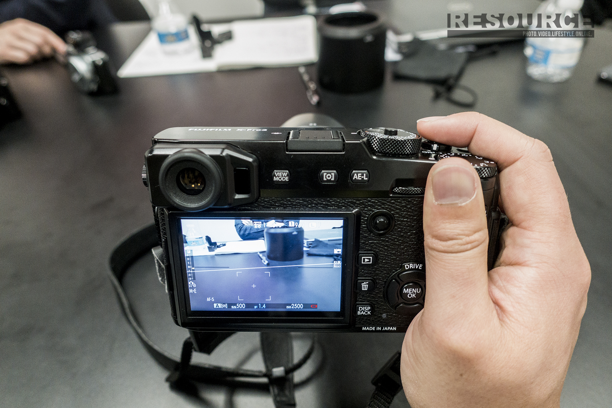 Fuji X-Pro2 Hands On