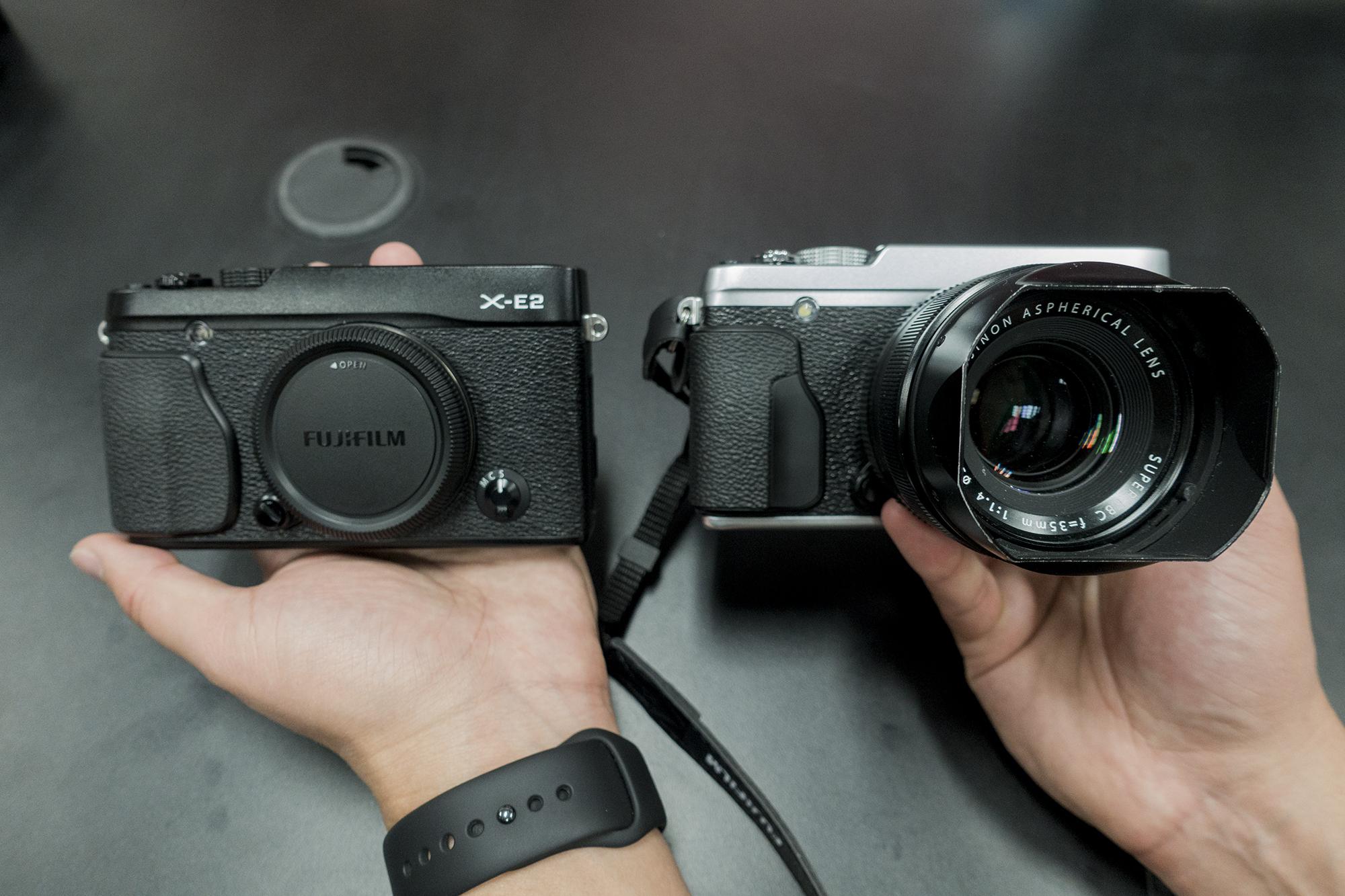 Fujifilm X-E2 Compared to X-E2S