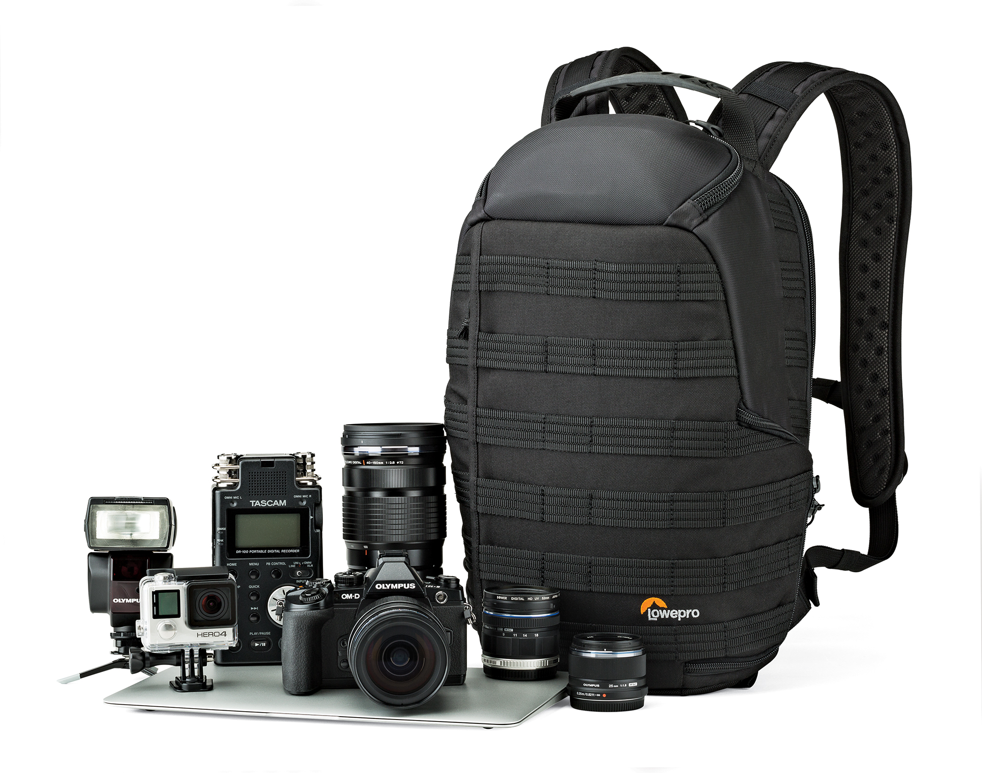 Camera Gear Bags : Condensing your camera gear lowepro s protactic