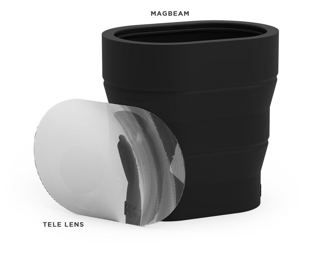 MagBeam and Tele Lens