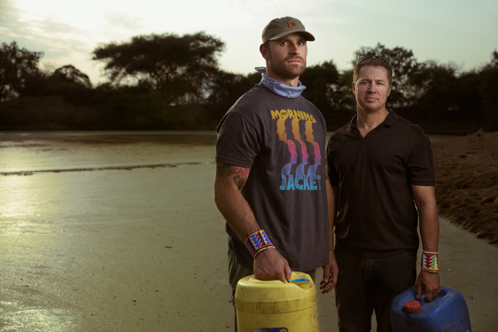 I Only Had Twenty Minutes to Capture NFL Star Chris Long In Tanzania
