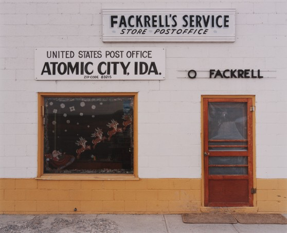 Fackrell's Texaco Store & Bar, Atomic City, Idaho, 1986