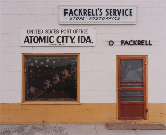 Fackrell's Texaco Store & Bar, Atomic City, Idaho, 1986