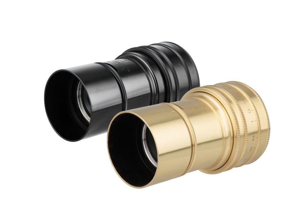 Lomography Daguerreotype Achromat 2,9 - 64 Art Lens_black_brass_quarter left