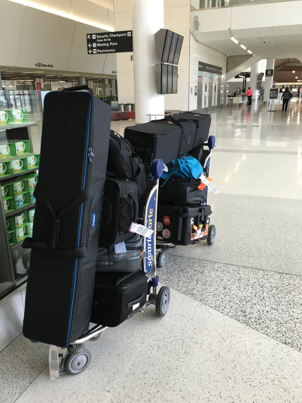 Luggage for Commercial Video Production