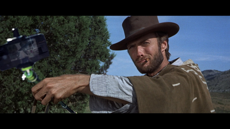 "Clint Eastwood in ""The Good, The Bad and The ugly"""