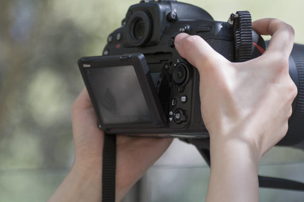 Nikon D500 Tilt Screen