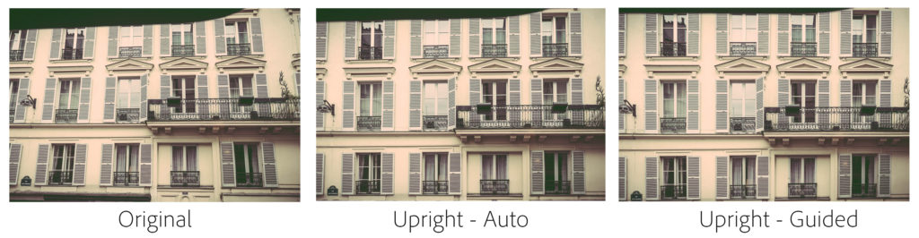adobe lightroom 6.6 guided upright