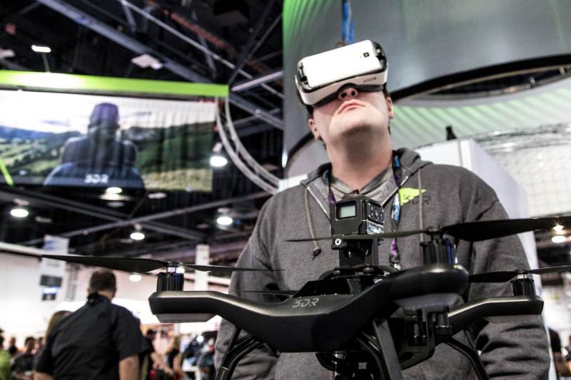 The 360 Degree VR Aerial Accessories Are Now Available For 3DR Solo Drone