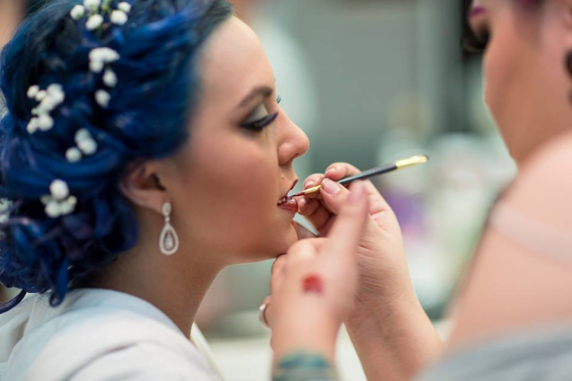 Nicole Ausband-Ting with Ferocity Makeup