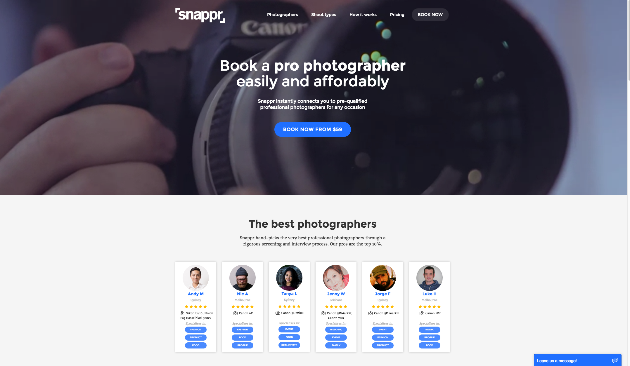 snappr-photography-devalue-uber-photo-shoot-startup-tech