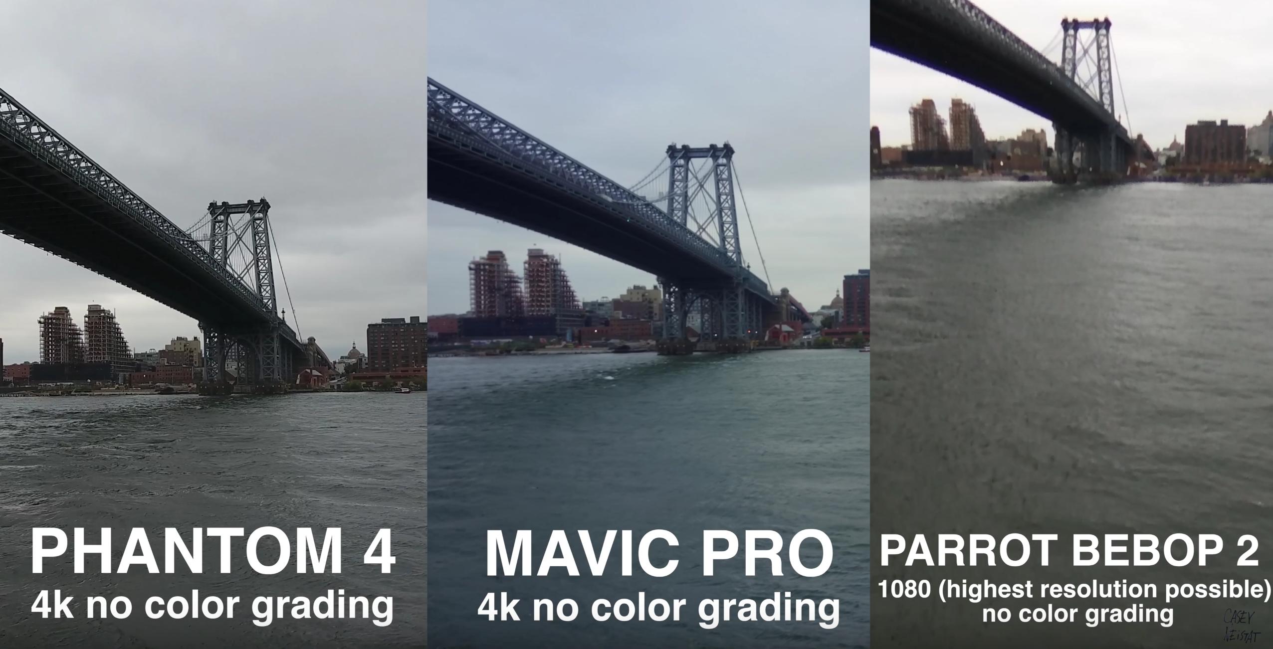 Comparing The DJI Phantom 4 To New Mavic Pretty Darn Close
