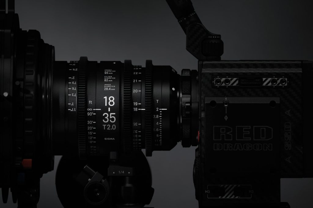 Sigma Announces Cinema Lens Line