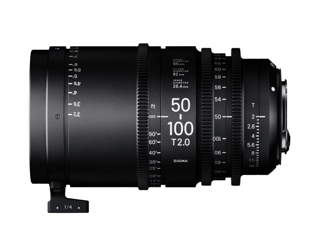 Sigma Announces Cinema Lens Line 50-100 T2.0