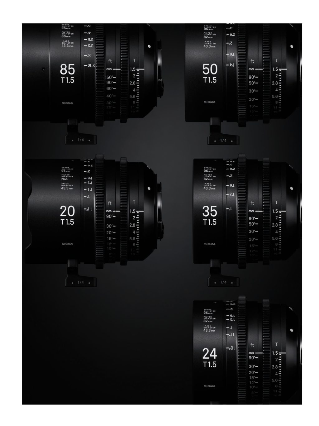 Sigma Announces Cinema Lens Line High Speed Primes